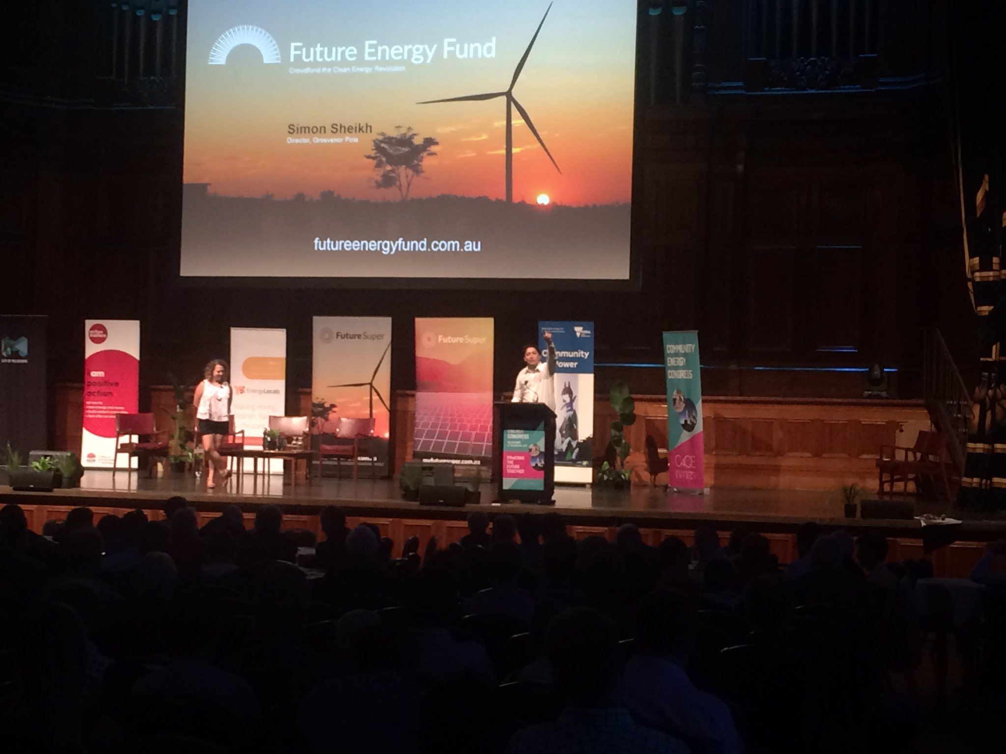 Great to see my @myfuturesuper co-founder @SimonSheikh launching the Future Energy Fund at #CECongress17 https://t.co/Qr4wZqQ81w