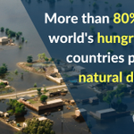 #ClimateChange takes the heaviest toll on the hungry: 80% live in countries prone to natural disasters https://t.co/pB1iCVe3wC