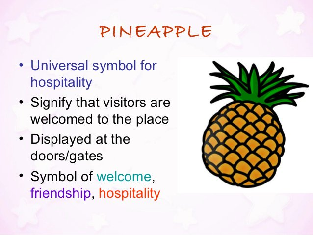 Sovereign Hotel On Twitter We Obviously Love The Pineapple Symbol