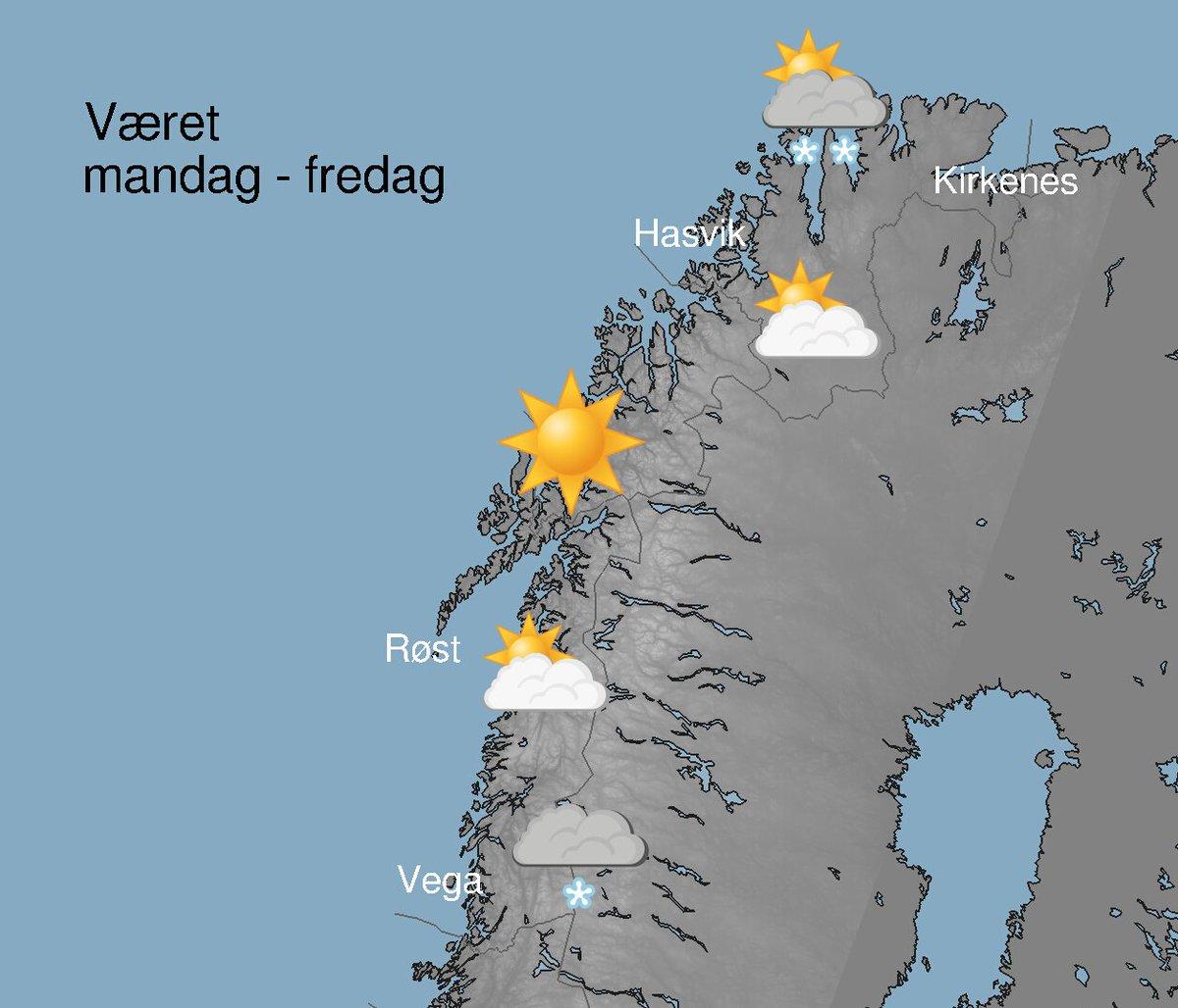 Meteorologene A Twitter En Svaert Kort Oppsummering Av Ukevaeret I