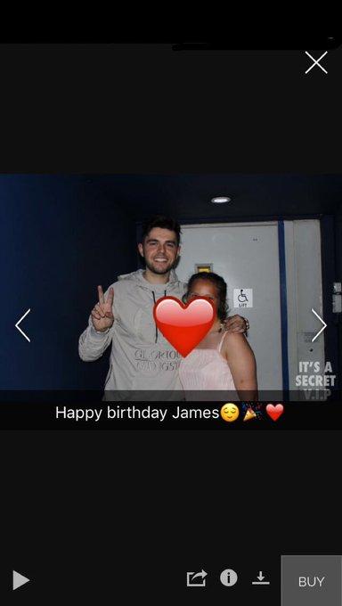 Happy birthday James Iysm