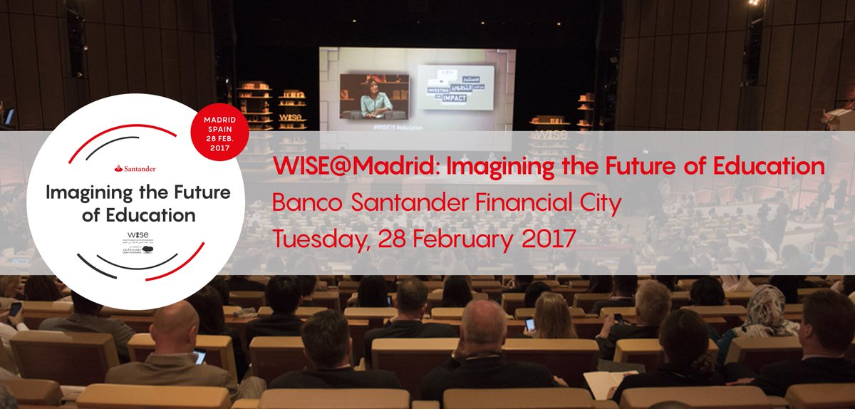 How can we imagine the future of #education? #WISEMadrid starts tomorr...