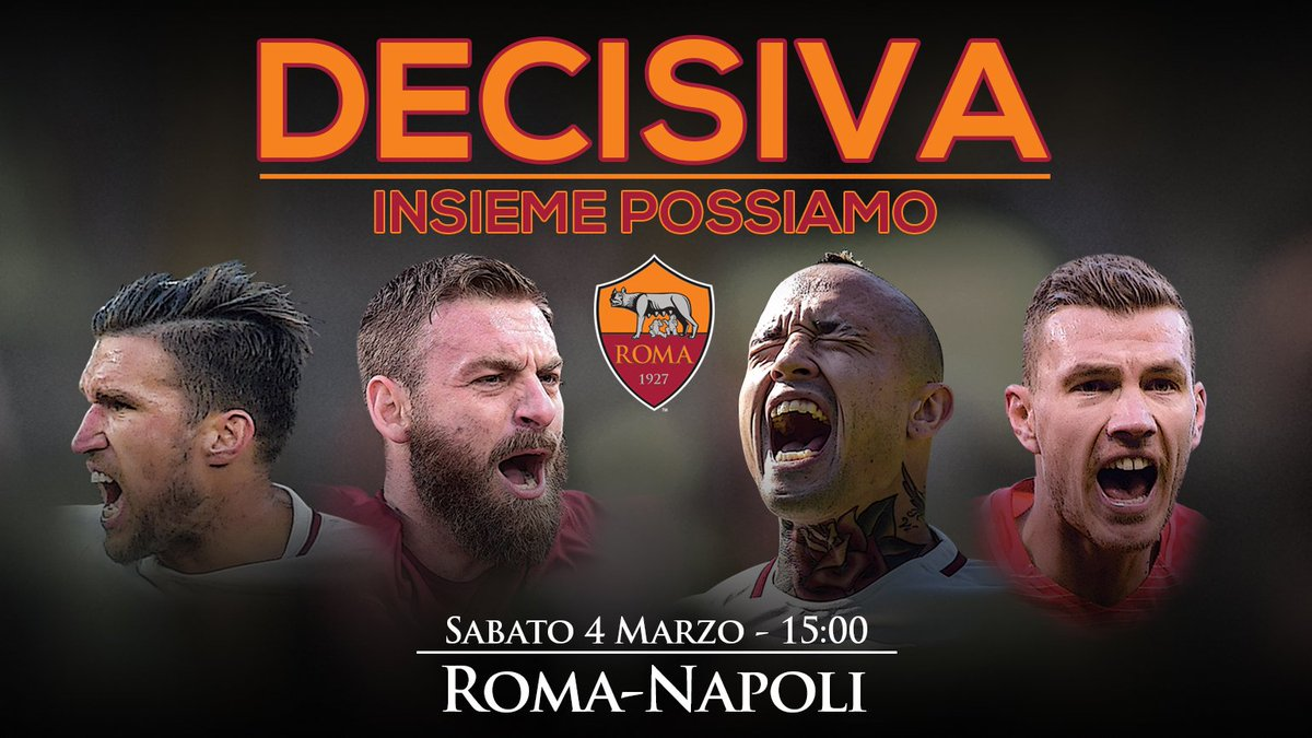 ROMA NAPOLI Streaming Gratis: vedere con Video YouTube e Facebook Live-Stream