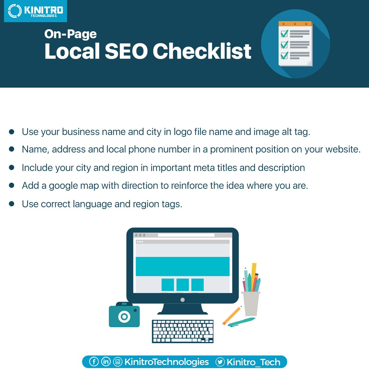 Local SEO is highly effective local online marketing. Allows businesses to promote services to local customers #SEO #DigitalMarketing https://t.co/317I77Z4pS