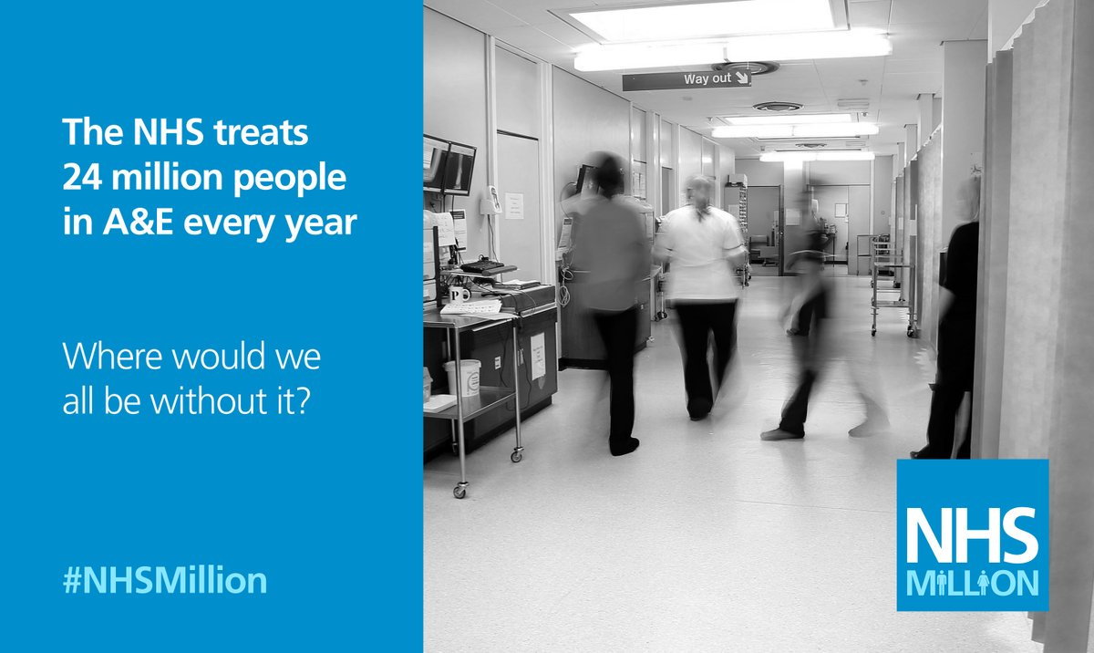 RT @NHSMillion: #mondaymotivation Where would we be without the NHS? RT if you agree! https://t.co/D7d53hjTd9