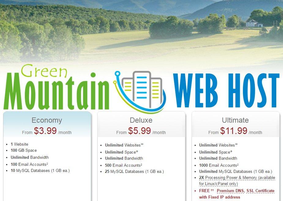 Green Mtn Web Host (@greenmtnwebhost) | Twitter