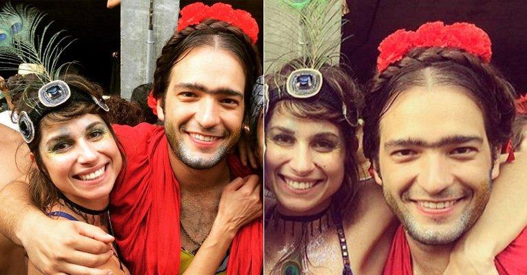 De Frida Kahlo, Humberto Carrão pula Carnaval de rua com a namorada, Chandelly Braz->https://t.co/LbYjlTYSrL