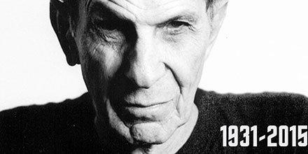 Two years ago today, we lost Leonard Nimoy #LLAP #StarTrek #Spock https://t.co/XqB2z5qdmo