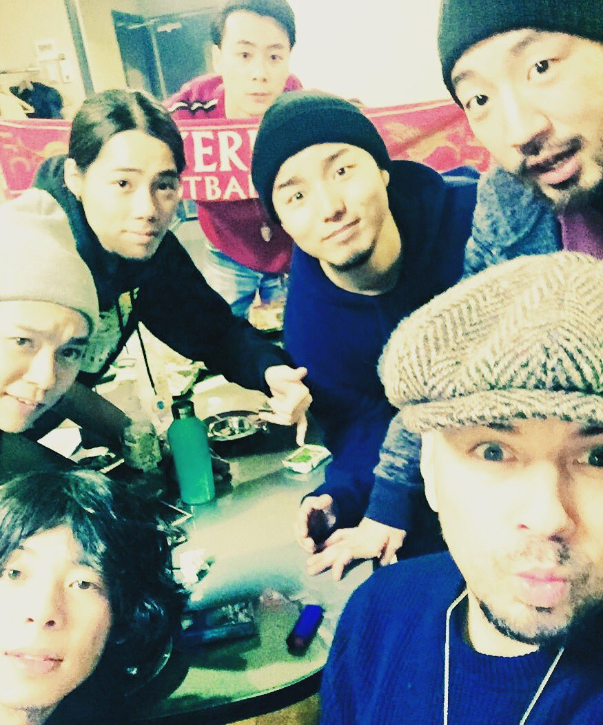 @suchmoz sugoi musical meeting with these funky lads ! Watch this space for music in the future !