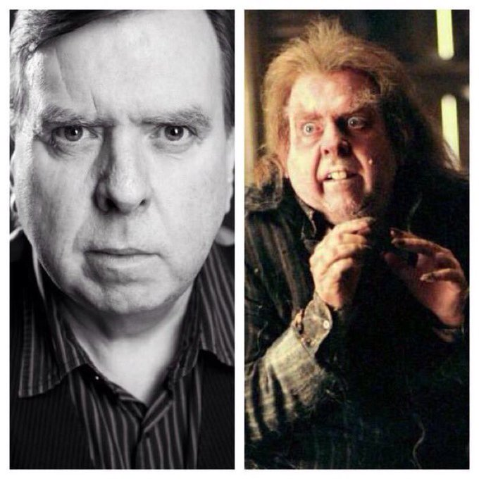 February 27: Happy Birthday, Timothy Spall! He played Peter Pettigrew in the films.