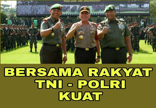 Hasil gambar untuk gambar RAKYAT TNI POLRI BERSATU