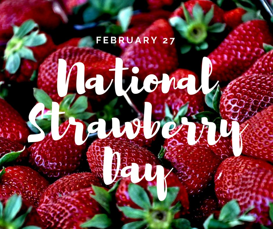 Today is #NationalStrawberryDay! Did you know that strawberries are a...