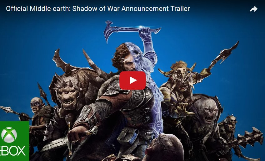 'Middle-earth: Shadow of War' coming to Project Scorpio, Xbox One &amp...