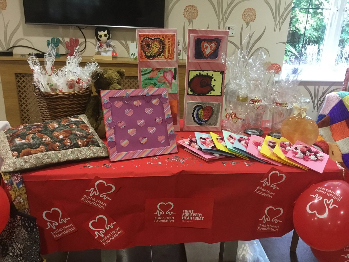 hallmark care homes on bucklesham grange residents hallmark care homes on bucklesham grange residents raised nearly pound100 for thebhf by selling raffle tickets some homemade crafts a knitted