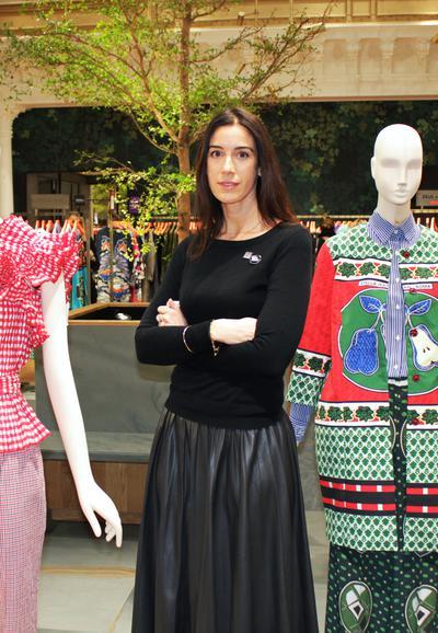 L&#39;oeil de la directrice #mode féminine @lebonmarche sur la #LFW, très inspiré pour les prochaines collections &gt;&gt;  http:// bit.ly/2mltV9B  &nbsp;  <br>http://pic.twitter.com/KrOzv5IisN