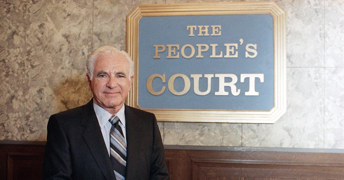 #RIP Judge Joseph Wapner of The People's Court, who passed away Sunday...