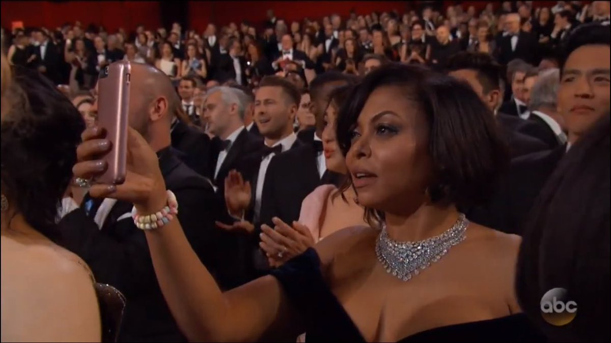 Tag yourself, I'm Taraji getting receipts