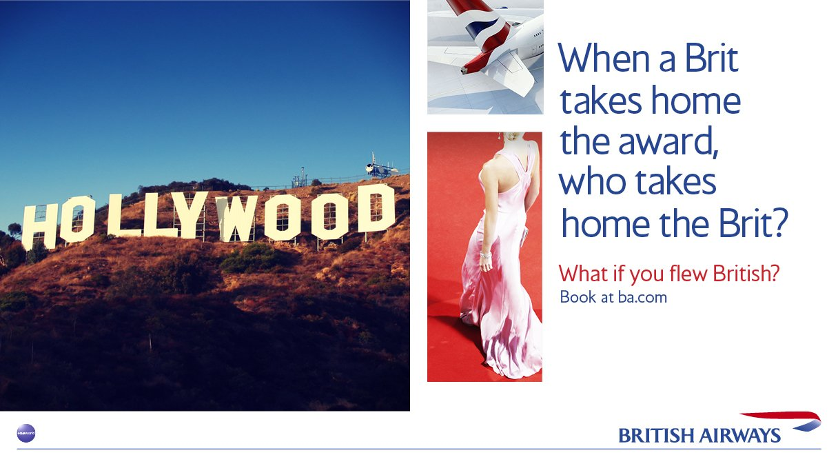 Taking home the Brits with @British_Airways #Oscars https://t.co/Eq0UXmaaeZ