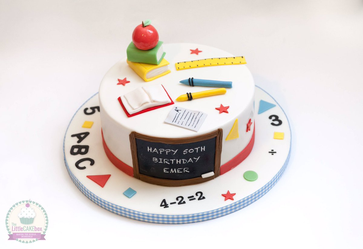 The Little Cake Box on Twitter Happy birthday to a primary school