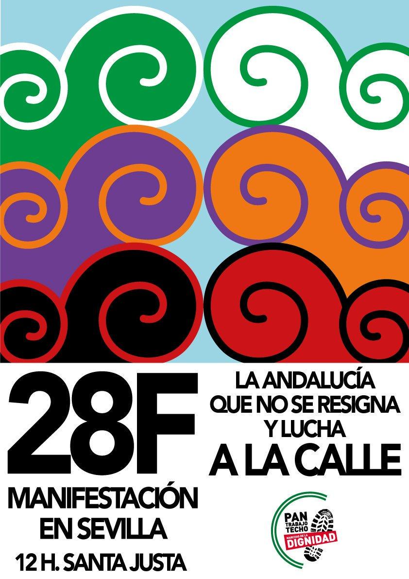 Mañana estaremos en Sevilla defendiendo una Andalucía libre de estafad...