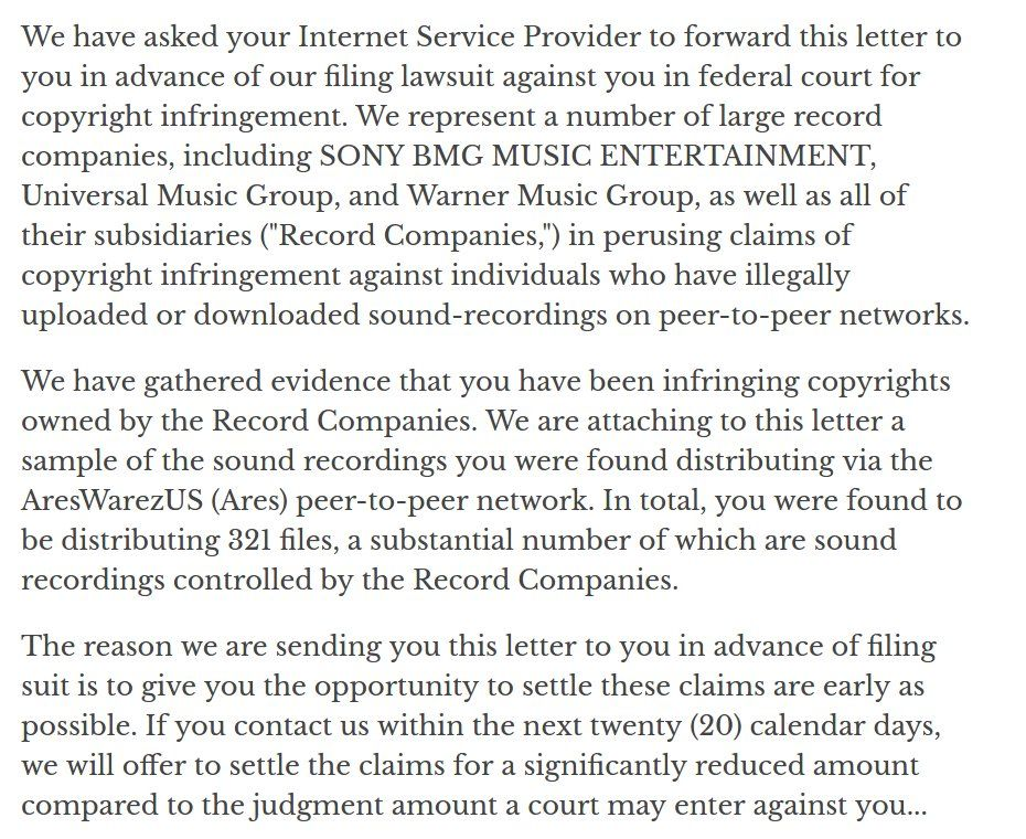 Son of an asylum seeker father of an immigrant on twitter heres son of an asylum seeker father of an immigrant on twitter heres a copy of the riaa letter sent to college students 10yrsago httpstmg4pj5bn7k altavistaventures Images