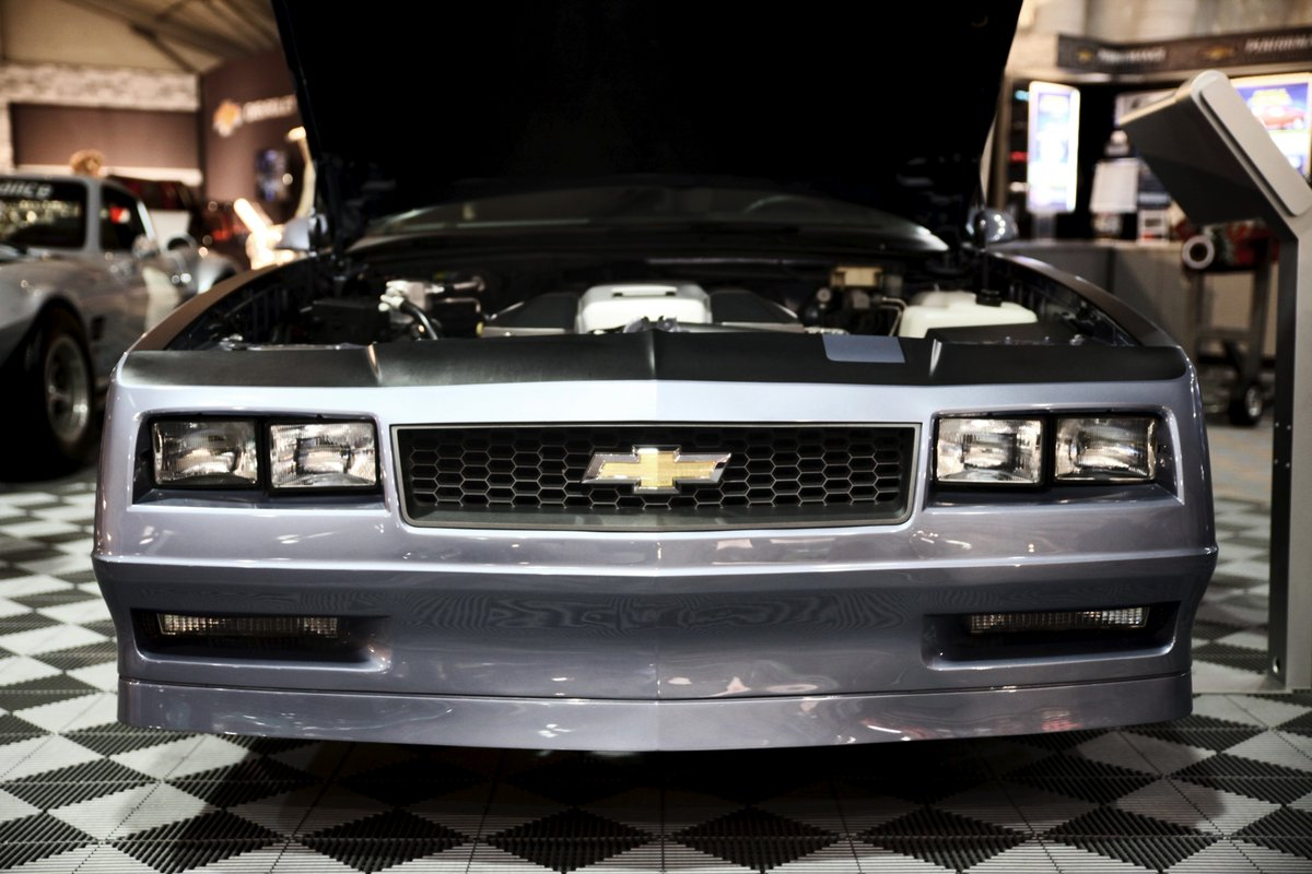 1988 Chevrolet Monte Carlo Ss Sports Coupe The Last Model Year With Rear Wheel Drive Now Rebuilt By Chevy Performance Barrettjacksonpic Twitter