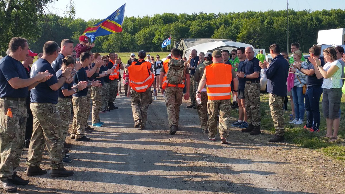 @runnersworld #Runners &amp; #UltraMarathon fans the @forcesmarch is recruiting now. Based on #WW2 Training route &amp; supports #UK #Veterans<br>http://pic.twitter.com/JqUYw5higC