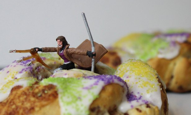 #TB to when I made mini Gambit King Cakes for #MardiGras https://t.co/...