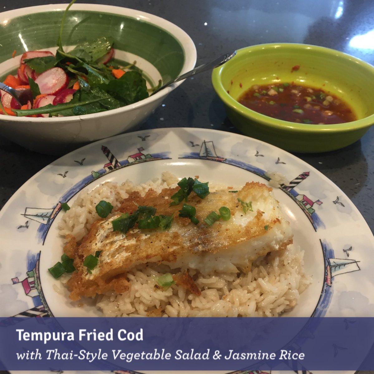 Blue apron tempura cod - 0 Replies 0 Retweets 0 Likes