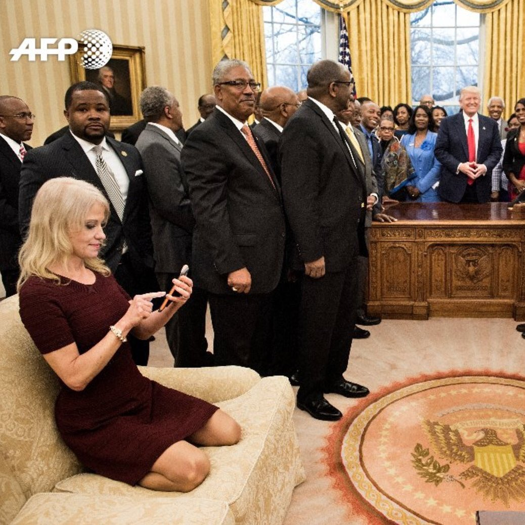 remember when republicans used to flip out over obama oval office deco...
