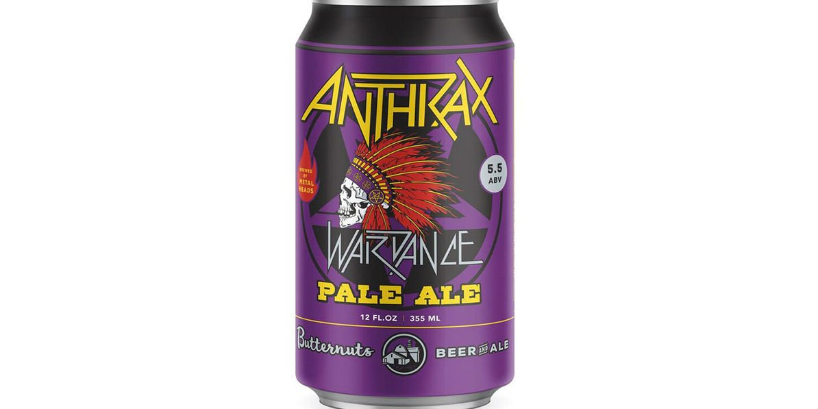 Metal Band #Anthrax Gets Its Own #Beer: Wardance Pale Ale - https://t.co/D21YtJU9ah https://t.co/xaSnc36mxN