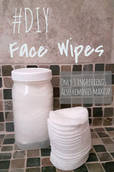 DIY Face Wipes (& A Giveaway!)