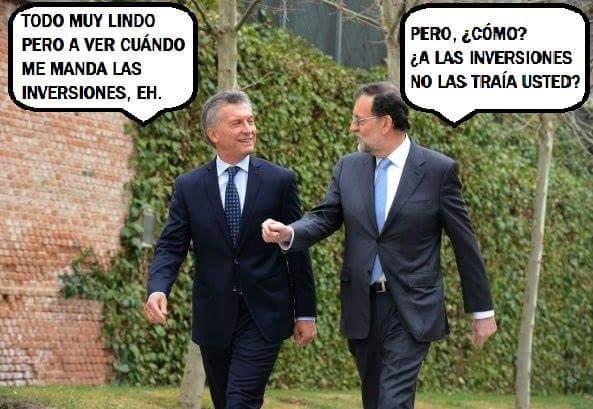 """""""Argentina se puso en marcha y van a valorarlo en octubre"""""""