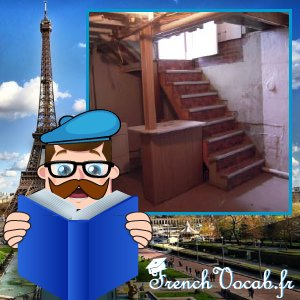 Un Sous Sol = Basement  http://www. frenchvocab.fr  &nbsp;   #french #learning<br>http://pic.twitter.com/GuXChqhhig