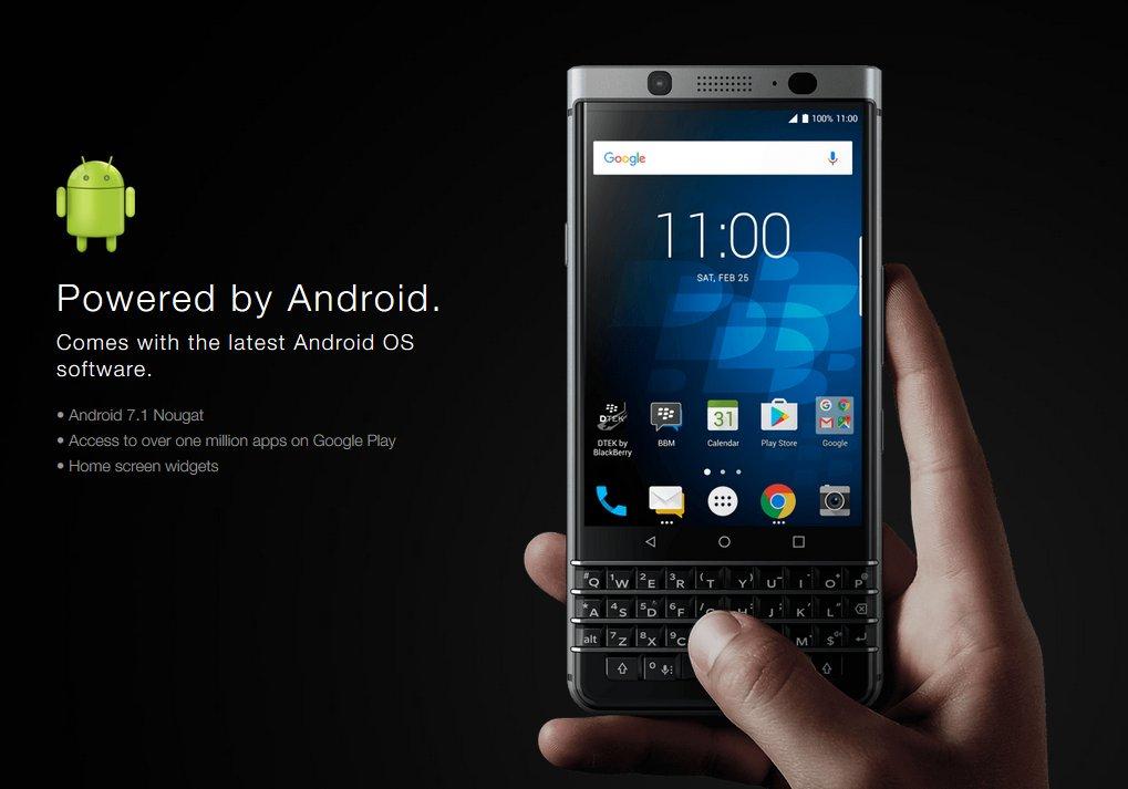 BlackBerry presenta oficialmente el nuevo smartphone KeyOne con Android https://t.co/tdj39lf9Ya - Follow @UnionMovil https://t.co/3NMgZYhSTV
