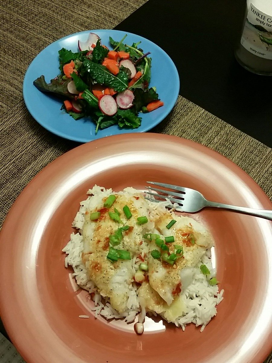 Blue apron tempura cod - Blueapron Tempura Fried Cod With Thai Veggie Salad Again Thanks Rhap For The Tip Robcesterninopic Twitter Com Ntelui9522