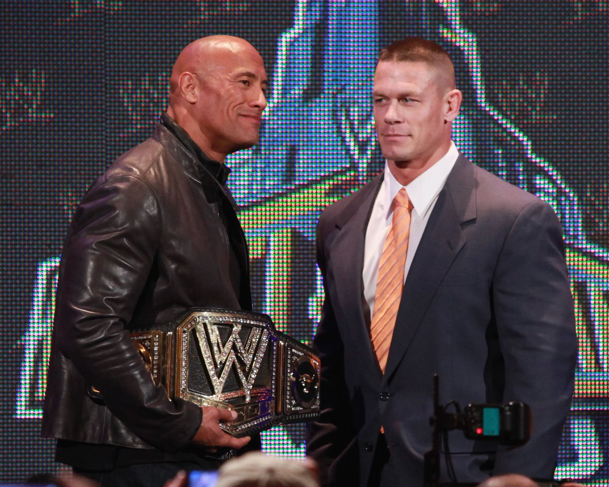 "John Cena says he regrets feuding with The Rock, ""It was stupid of me""..."