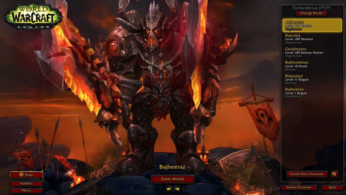 Wow Fury Warrior Icon