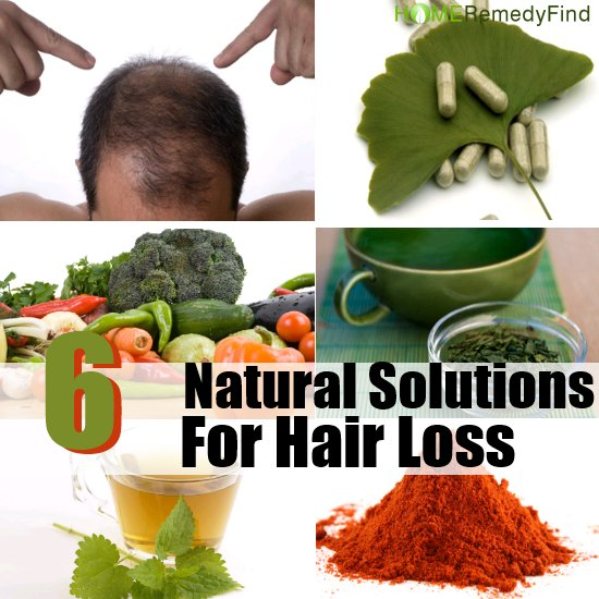 Hair Loss Natural Solution, Re-Grow Your Hair
