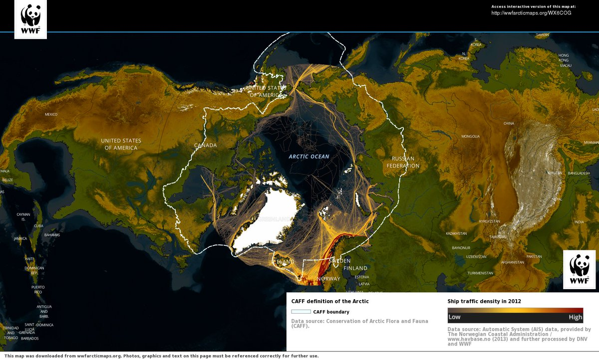 Ship Traffic Map.Geogarage Blog How Ordinary Ship Traffic Could Help Map The