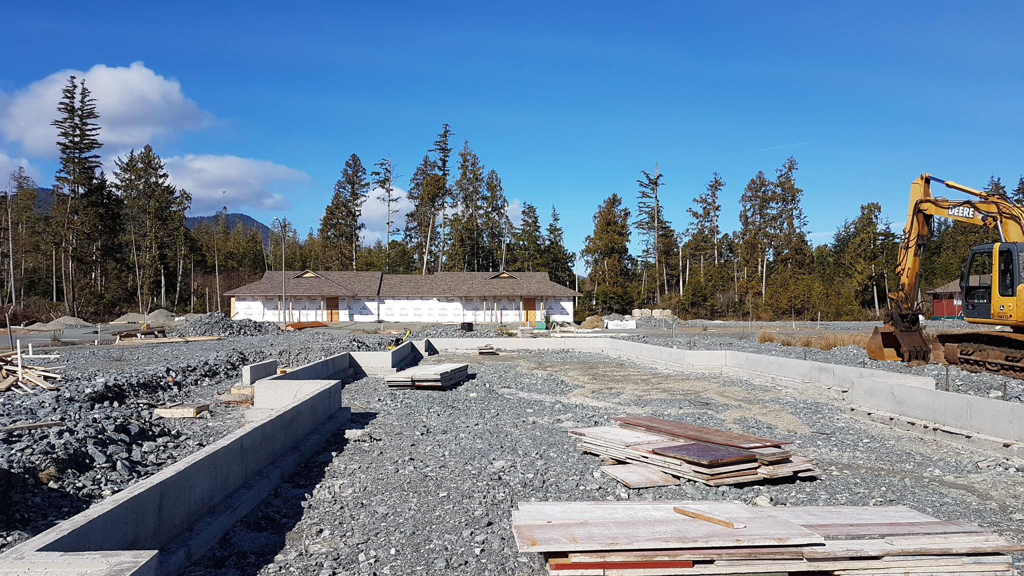 Background image foundation 6 - Ahousaht Admin On Twitter 4 Unit Teacherage In The Background 6 Unit Multiplex Foundation In The Foreground Https T Co Ivhsct1fey
