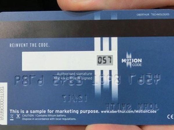 仏社、裏の3桁数字が時間に応じて変化するクレジットカード https://t.co/e5fsGtqc9k https://t.co/TbKSuqsYBU