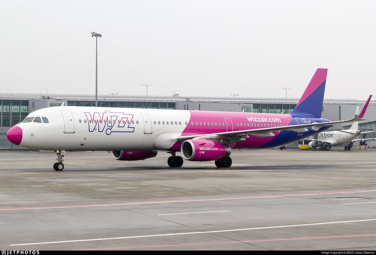 Jetphotos On Twitter A Pink Nosed Wizz Air A321 In Warsaw Https T Co 9rovzwpuey C Lukasz Stawiarz
