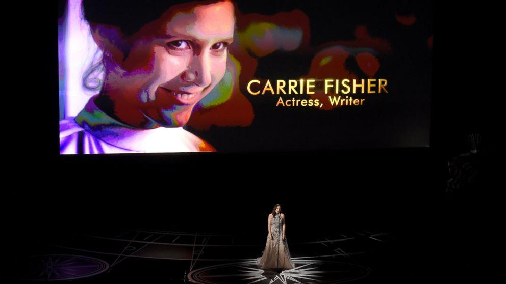Oscars In #Memoriam remembers #Debbie Reynolds and #Carrie Fisher  http:// abcn.ws/2l74zMn  &nbsp;  <br>http://pic.twitter.com/eBeIMq1Aqs