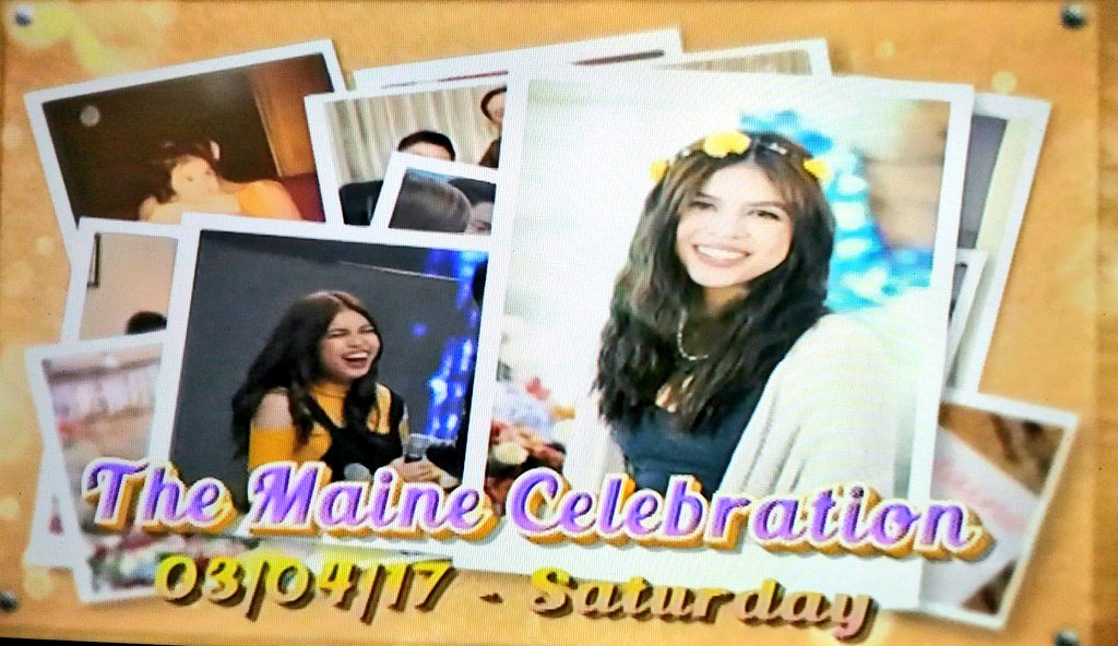 Maine&#39;s birthday celebration on @EatBulaga this Saturday!   Let&#39;s celebrate this day the #AldenAt25 way, HT wise.  #DTBYArchitectBenjie<br>http://pic.twitter.com/PsLDowMCxZ
