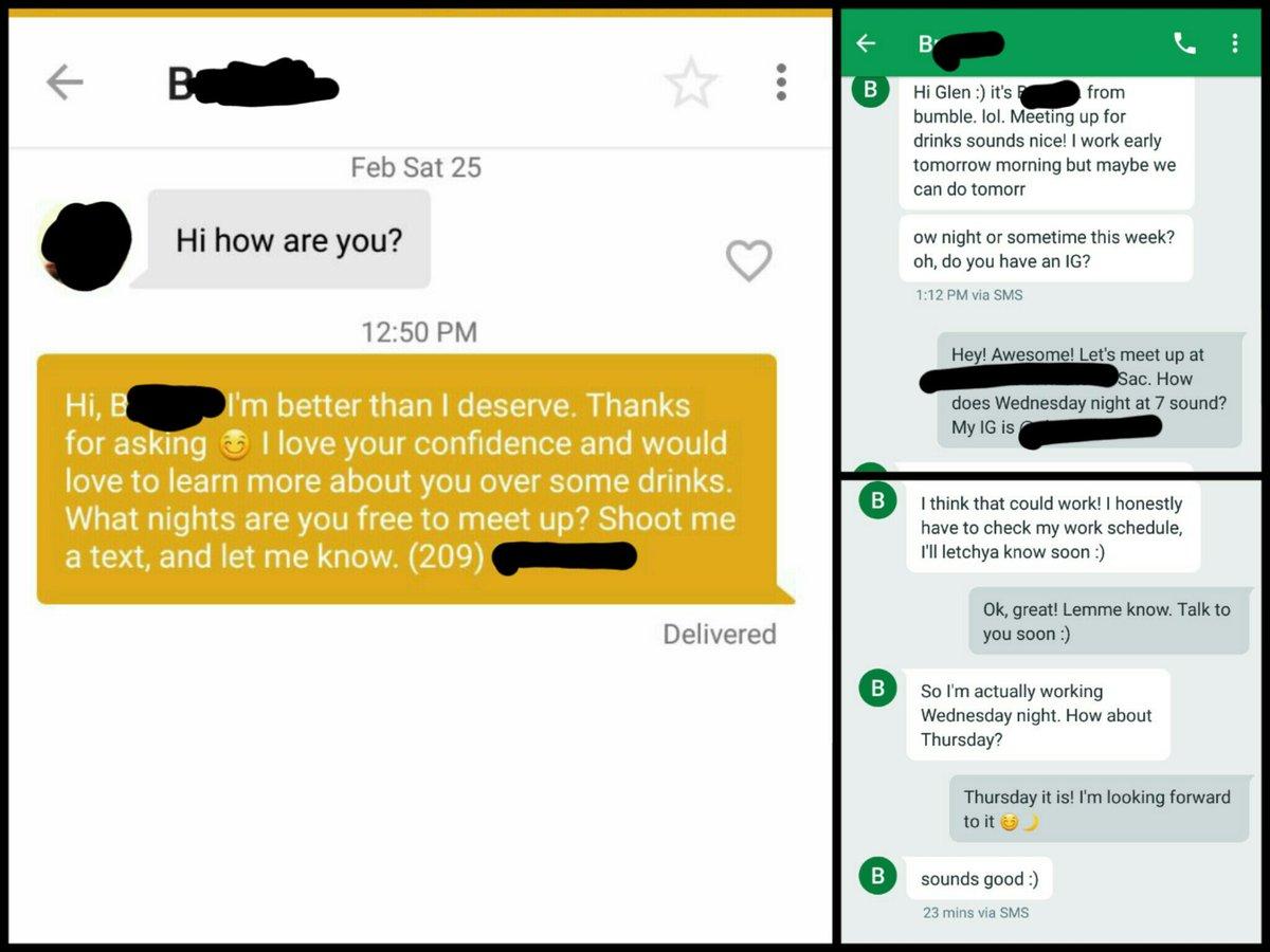 Dating via SMS