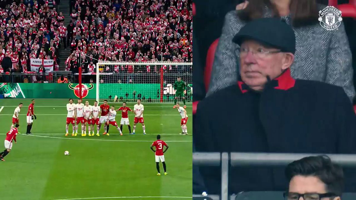 Sir Alex's celebration is all of us! 🙌
