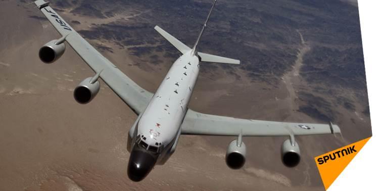 Un #avion #US a scanné pendant des heures la frontière russe &gt;&gt;  http:// sptnkne.ws/dEnf  &nbsp;   #EtatsUnis #Russie #défense<br>http://pic.twitter.com/zE2M1aGQPR