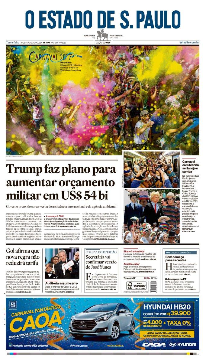 CAPA: Trump anuncia plano para aumentar orçamento militar em US$ 54 bi...