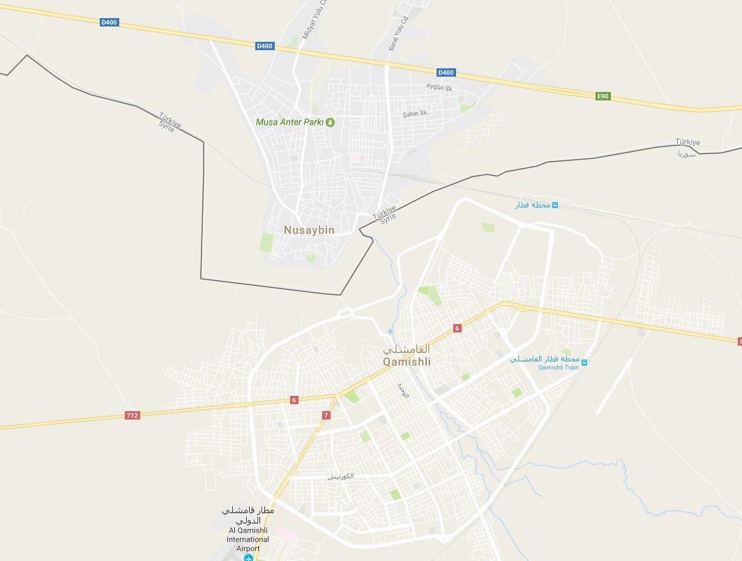 Cemal On Twitter Qamishli And Nusaybin In MapPkk Terrorists - Qamishli map